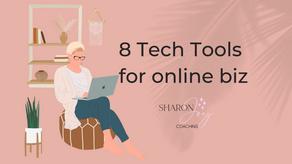 8 Tech tools for online biz