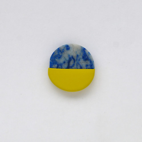 DIPPED lapis lazuli pin