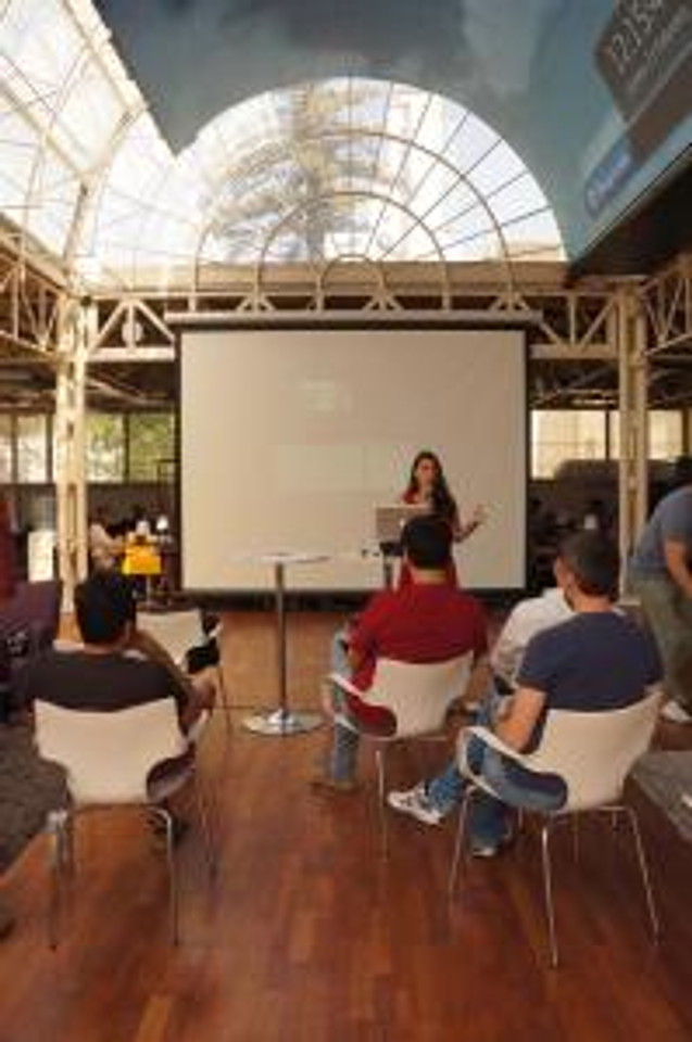 Presenting to Startup Chile