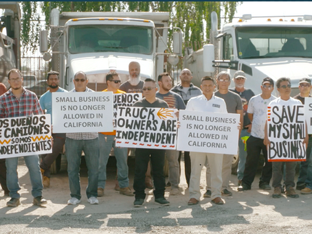 Court Grants Temporary Restraining Order to Pause Enforcement of AB5 Against Motor Carriers