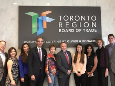 The Grady Firm joins MAPLE Canadian-US Business Council Delegation to Toronto; Partners with Canadia