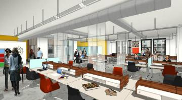 The TOP 5 Office Spaces of the Future—get out of your pajamas, inflexible leases, or stuffy office s