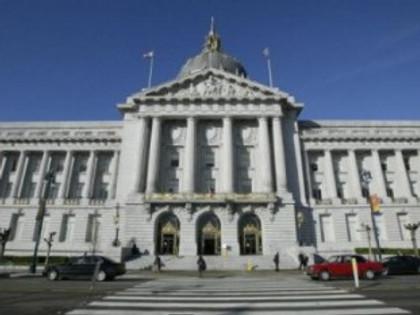 San Francisco City Hall. Justin Sullivan/Getty images.