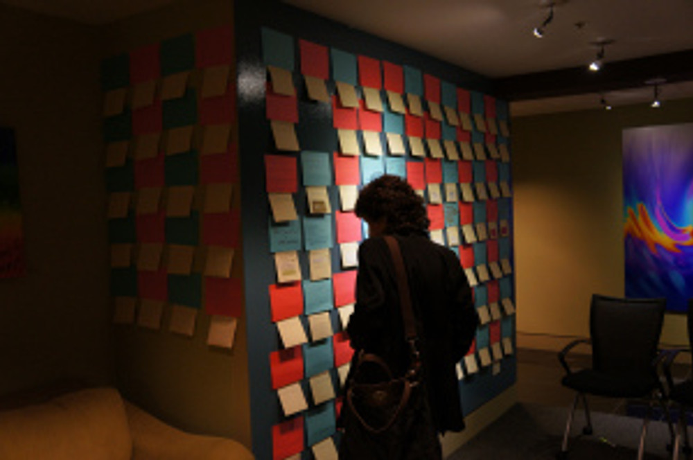 The Giving Wall at Pay It Forward for Business