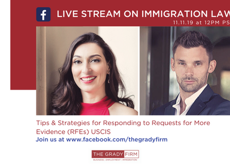 Listen to our Podcast on Strategies for Responding to Requests for Evidence (RFEs) from USCIS