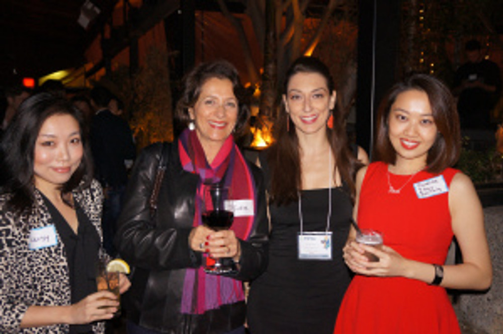 Jennifer Grady with members of the Women Entrepreneurs Club at Pay It Forward for Business