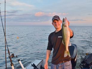 Weekend Ready Fishing Report - Winnebago System (08/11/17)
