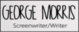 George Morris Screenwriter Handwriten Logo