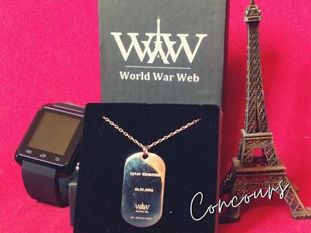 "🎁 Concours #2 - ""World War Web - S 2.0"" 1/3"