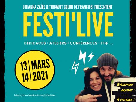 🎉 Showtime ! #8 – Le Festi'Live est de retour !