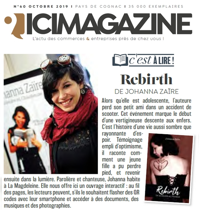 johanna, zaïre, article, presse