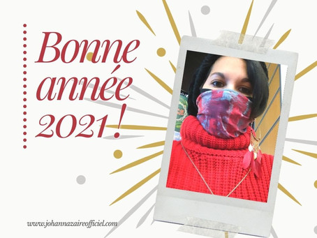 ✨ Ma vie d'artiste #8 – Au revoir 2020…