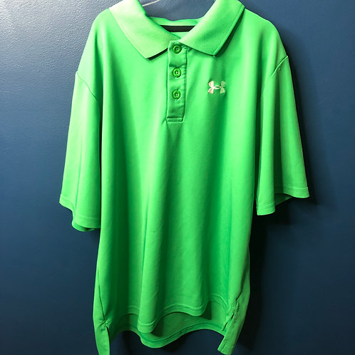 Large Under Amour Loose Polo Play Cond