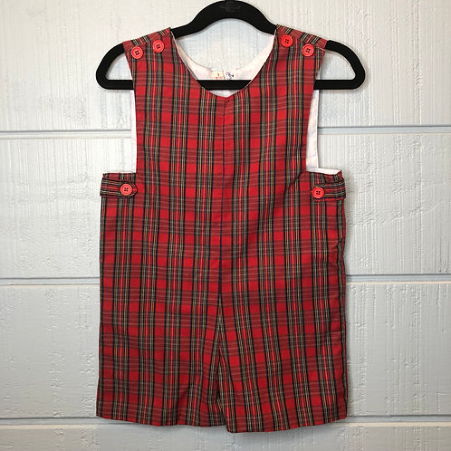 3 Orient Expressed Plaid Shortall