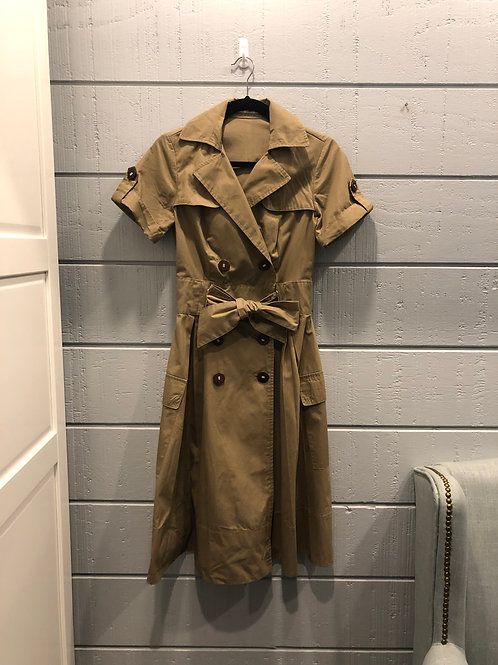 Small Zara Basic Trench Dress