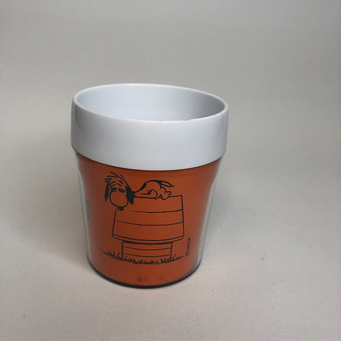 Snoopy Peanuts Allergic to Morning Plastic Mug