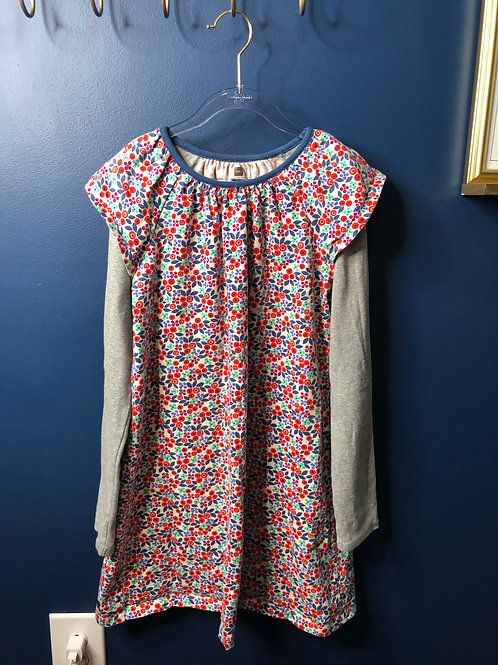 12 Tea Collection Floral Layered Dress