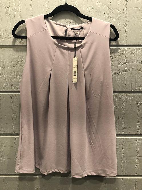 Large NWT Tahari Sleeveless Lilac Top
