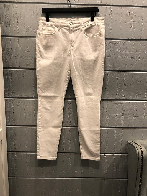 31 Joes Skinny Ankle White Jeans