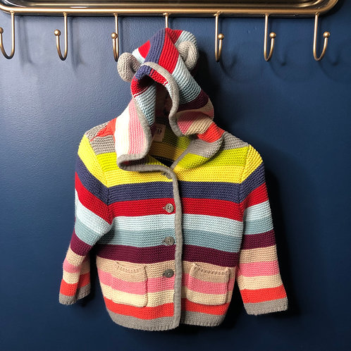 12-18 m Baby Gap Stripe Cardigan