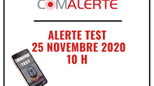 COMALERTE | Alerte TEST