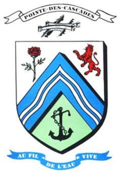 Pointe-des-cascades, armoiries