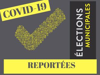 ÉLECTIONS PARTIELLES REPORTÉES
