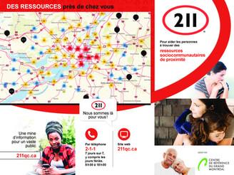 Service 2-1-1 pour la MRC de Vaudreuil-Soulanges