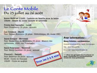 Conte mobile - activité gratuite