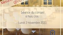 SÉANCE DU CONSEIL | HUIS CLOS