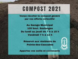 Distribution de compost | 1ère édition