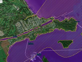 La municipalité de Pointe-des-Cascades : Retirée du décret ministériel