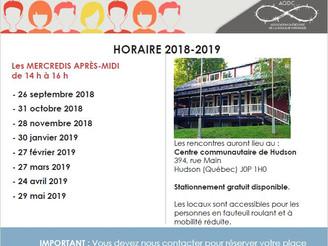 NOUVEAU ! Groupe d'entraide de Vaudreuil-Soulanges pour les personnes souffrant de douleurs chro