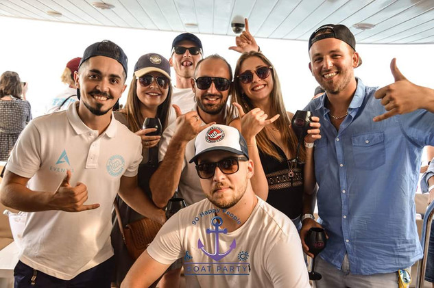 Boat party BSF & A-Events