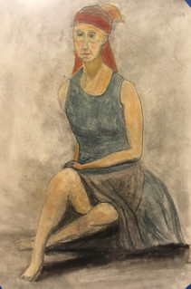Colored charcoal