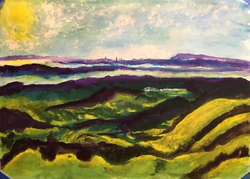 West from Mount Diablo