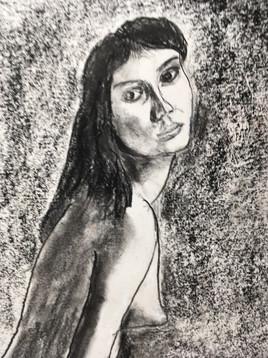 Conte crayon