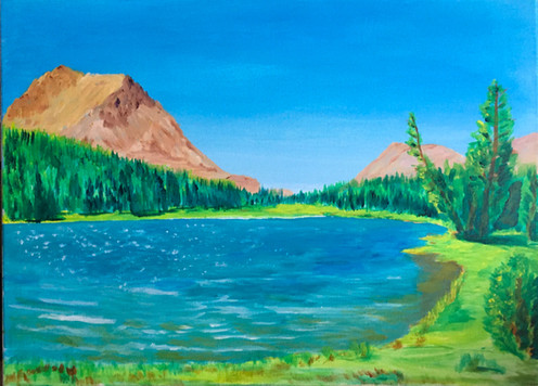 Highland Lake, Ebbetts Pass