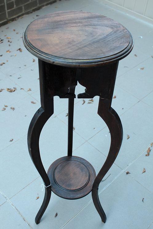 Carved Oak Plant/Fern Stand Pedestal