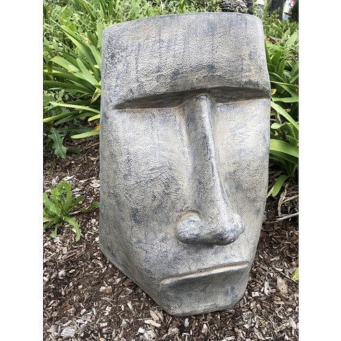 Garden Face Sculpture