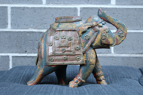 Handcrafted Jaipur Elephant Candle Stand