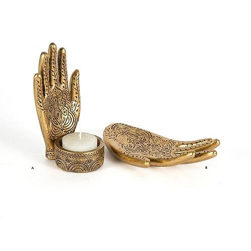 Hand Tlight Holder