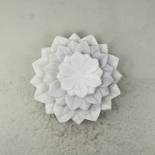 Lotus Marble Plate/Pc