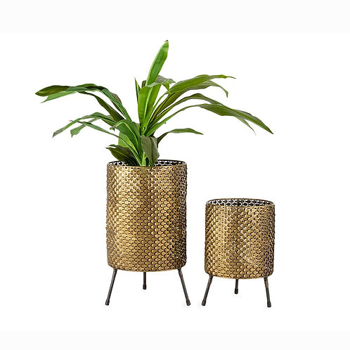 Gold Nested Planters