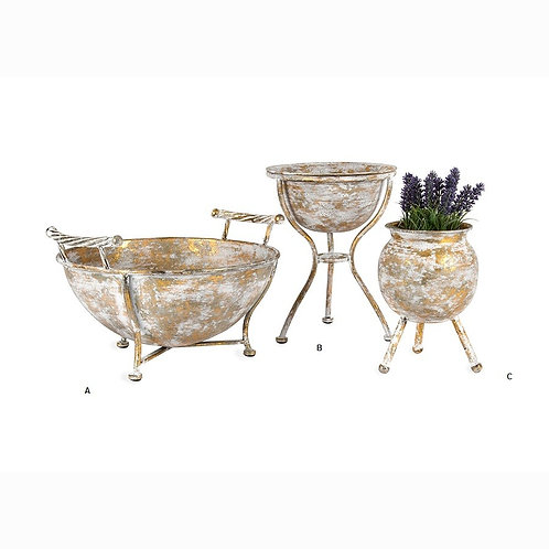 Bowl & Pot Planter Set of 2