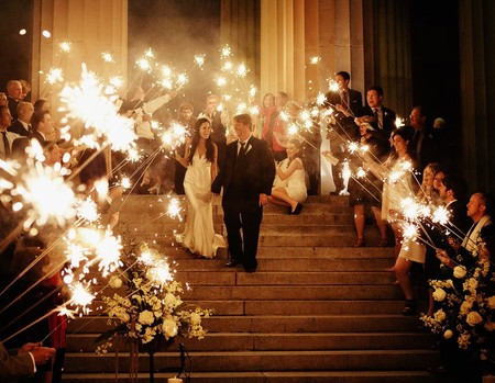 Our 36 Inch Wedding Sparklers Have Burn Time Of Approximately Four Minutes These Are Made With A Steel Wire Core And Smokeless Ash Less