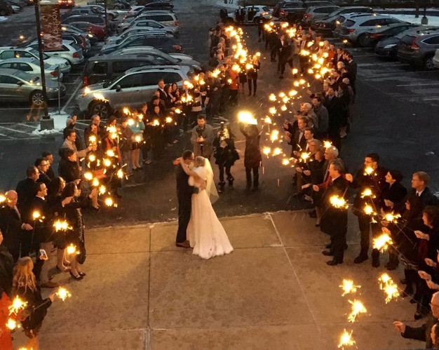 our selection of wedding products begin with our famous wedding sparklers wedding sparklers have been a popular product for wedding exits