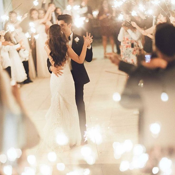 9 Ways To Use Sparklers At Your Wedding Grand Wedding Exit