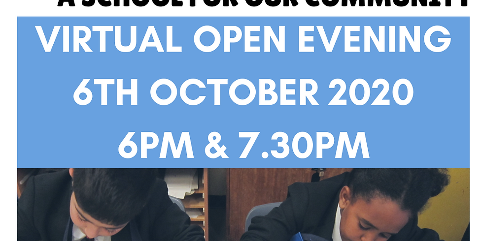 Broomfield 2020 Virtual Open Evening - 7.30pm