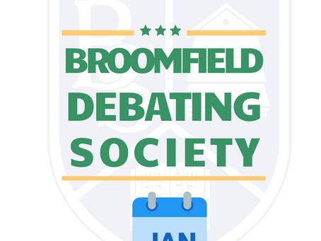 Debating Society January